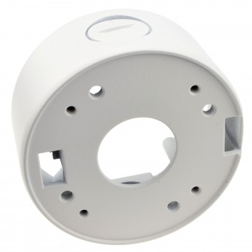 CCTV Camera 42mm Back Box Universal Mounting Deep Base White