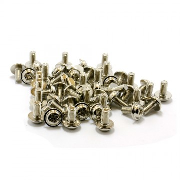 PC Mounting Computer Screws M3 x 1/4in Long Standoff - 50 Pack