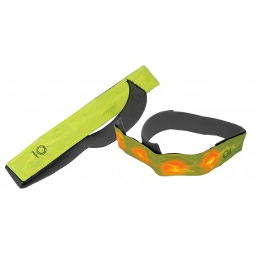 Mercury HiVis Reflective Armband With 4 LEDs for Cycling or...