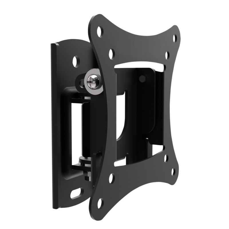 Tilt and Swivel TV Mounting Bracket 56mm Profile for 10 to 27 Inch TVs
