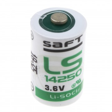 SAFT Lithium Half AA 3.6v 1.2Ah ER14250 LS14250 Battery IMAC Cell
