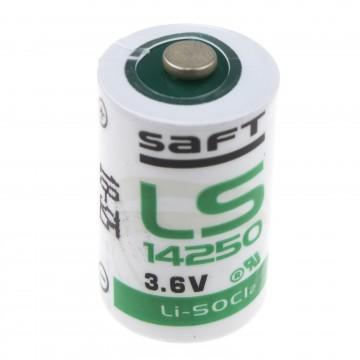 SAFT Lithium Half AA 3.6v 1.2Ah ER14250 LS14250 Battery IMAC Cell