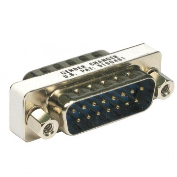 Gender Changer LD15 Low Density 15 pin Male to Male Coupler...