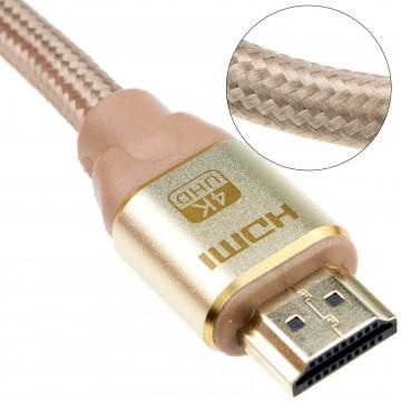 Reines Kupfer HDMI 2.0b 2160p 4k UHD TV Geflochten Hoch...