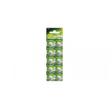 GP Alkaline Cell Battery LR55 191 V8GA D191A 1.5V Pack Of 10