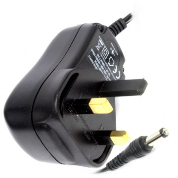DC Power Adapter 5V 1.5A 7.5W UK 3 Pin 2.1mm x 5.5mm