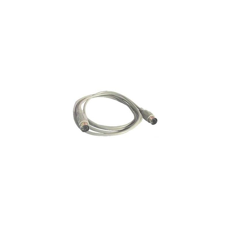 MIDI or AT Keyboard Cable 5 pin DIN Male Plug to Plug 5m