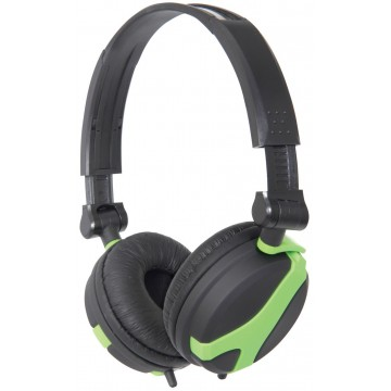 QTX QX40 Stereo OFC Leather Cushioned Foldable Headphones...