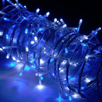 Christmas Xmas 100 x Blue & White LED String Light with...