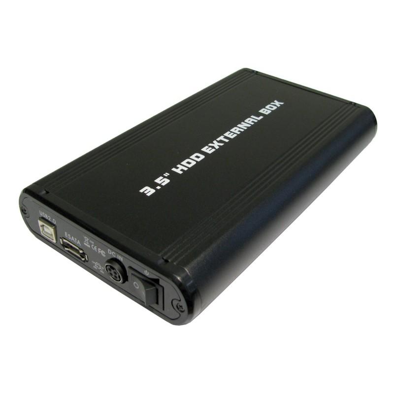 Newlink 3.5 Inch USB 2.0 To SATA HDD Enclosure Caddy with UK PSU
