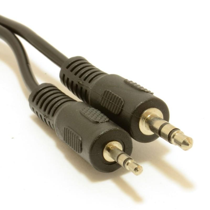 3.5mm Stereo Jack Plug to 2.5mm Stereo Audio Jack Plug Cable  1m