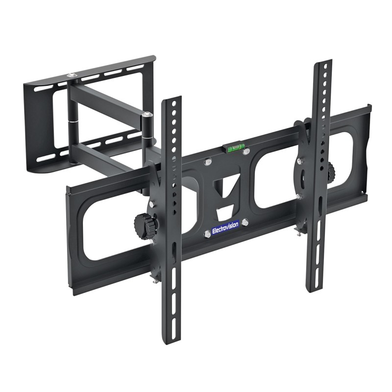 Dual Arm Tilt and Swivel TV Wall Mounting Bracket 32 to 65 Inch TVs