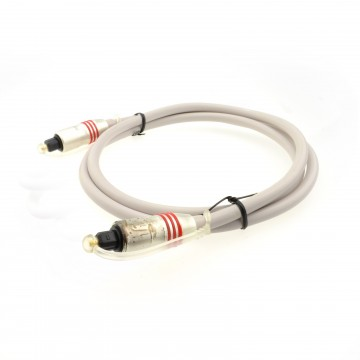 PEARL Digital Optical Audio Cable 6mm Plug to Plug Lead Marked...