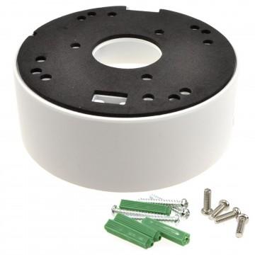 CCTV Camera 42mm Back Box Universal Mounting Deep Base White...