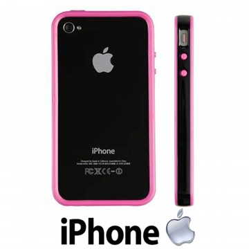 Kensington iPhone 4 & 4S Protective Band Case Bumper Cover Pink