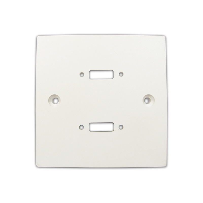 Pre Drilled Mounting Wall Faceplate for TWIN HDMI Panel Mount Stub