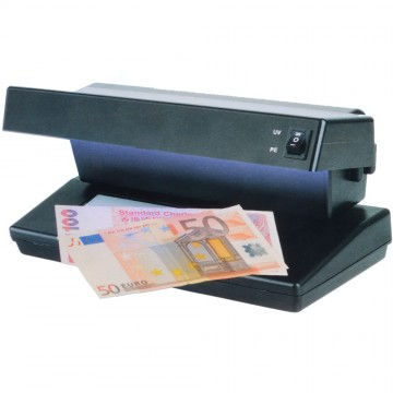 Pro Counterfeit Note Detector DUAL UV Tube & Watermark Checker...