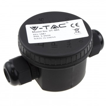 Outdoor IP65 UV/Waterproof Round Junction Box Enclosure for Electric Cables