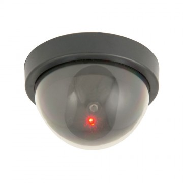Mercury CCTV Ceiling Mount Dummy Security Camera With Flashing...