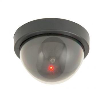 Mercury CCTV Ceiling Mount Dummy Security Camera With Flashing LED