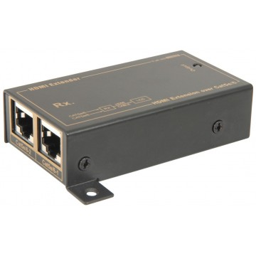 HDMI High Speed Distribution Over Ethernet RJ45 Receiver Unit...
