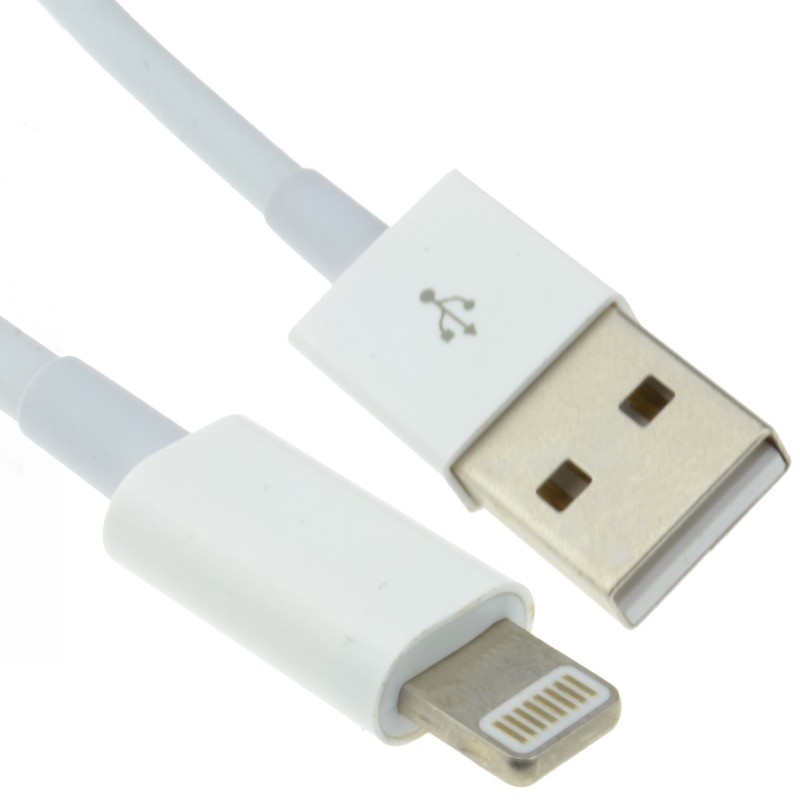 USB Sync/Charging Cable Lead for iPhone 7/8/9/X Lightning 8 pin  0.5m