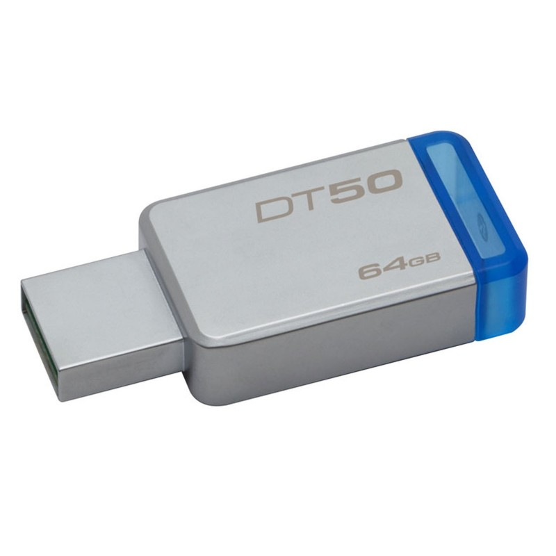 Kingston  64GB DataTraveler50 USB 3.0 Flash Storage Pen Drive DT50/64GB