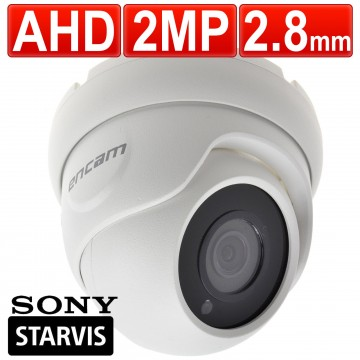 encam CCTV AHD 2MP 1080P 2.8mm SONY Starvis Starlight IMX335...