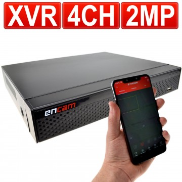 XVR/DVR 4 Channel 1080N 2MP CCTV 5 in 1 Recorder AHD TVI CVI...