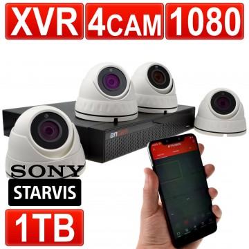 encam 1080p Videoüberwachung CCTV Kit 4 Channel XVR Blockflöte...