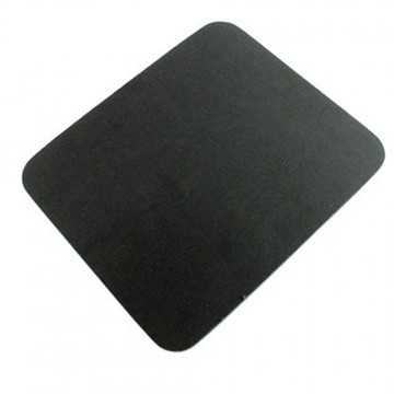 Black Mouse Mat 6mm Foam Backed