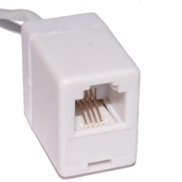 OM1 Grey Fibre Optic LC ST Duplex MM 62.5 125 Patch LSZH Cable 1m