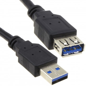 USB 3.0 24AWG High Speed Extension Cable Type A Male to Female...