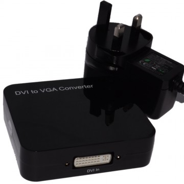 DVI-D Digital Input to VGA Analogue Output Video UK Powered...