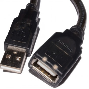 VZTEC USB 2.0 Active Repeater Male to Female Extension Cable 15m