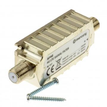 4G LTE Shielded In Line Filter F Type Screw Sockets - Improves...