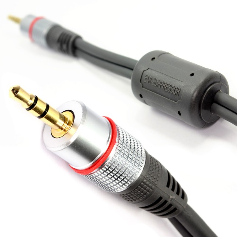 Ultra Pure OFC 3.5mm Stereo Jack to Jack Audio Cable 1m