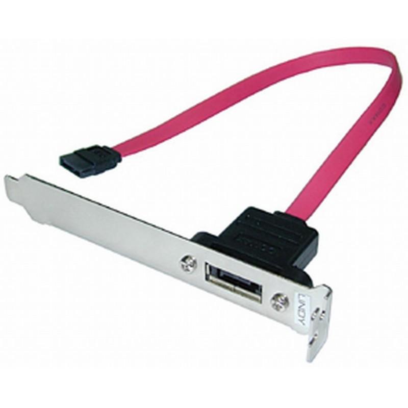 Serial ATA PC Backplate Adapter SATA Socket - 1 port
