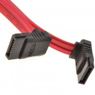 SATA 1.5GBs & 3Gbs Serial Internal Data Cable 1m Right-Angled