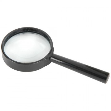 Mercury Large General Purpose Handheld Magnifier 6X Magnification