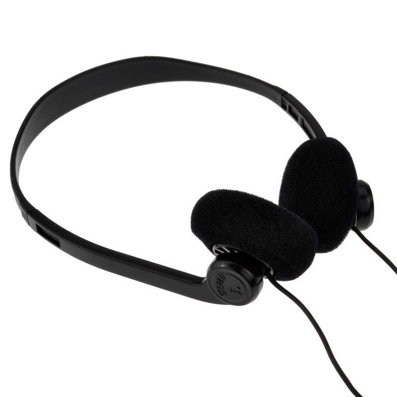 Pro Signal Stereo Extendable Over Head Earphones with 3.5mm Jack 1.8m