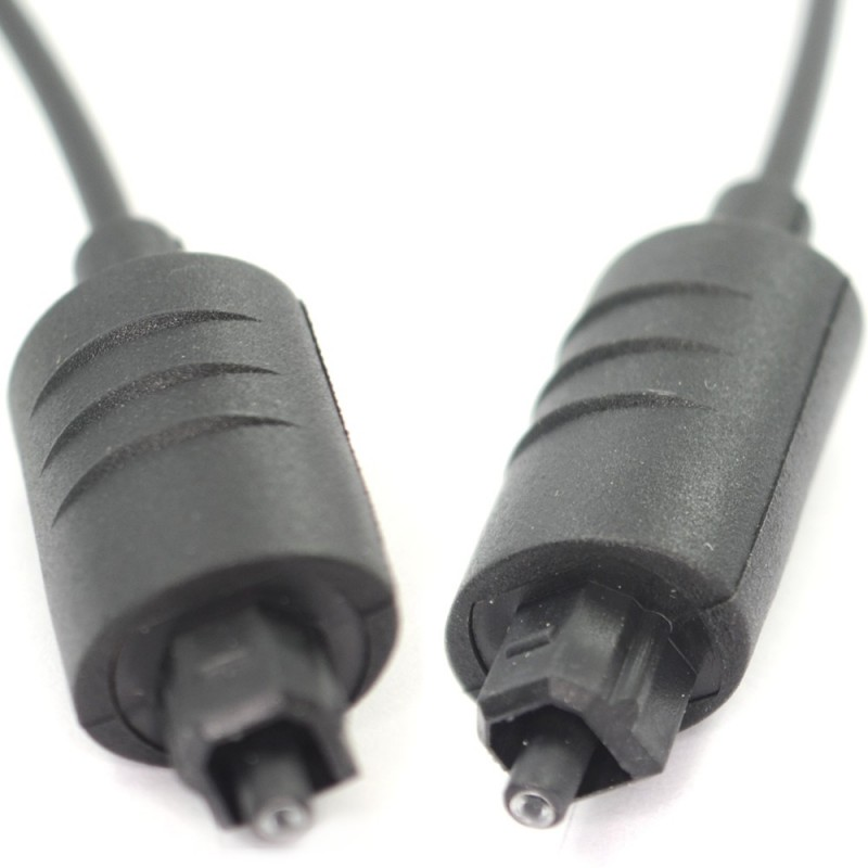 TOS TosLink Optical Digital Audio Lead Plug to Plug Cable 50cm 0.5m