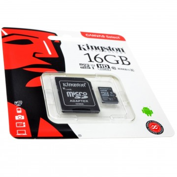 Kingston Class 10 Micro SD Storage Mobile Phone Memory Card U1...