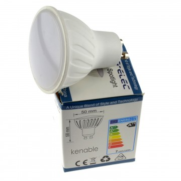 LED GU10 7W 120 Degree 3000k Lamp Downlight/Spotlight Bulb...