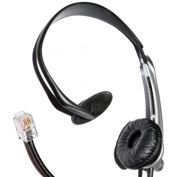 JAC Universal Telephone Handsfree Headset & Boom Microphone...