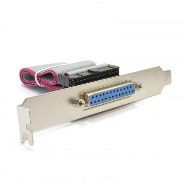DB25 Parallel Female Socket to IDC 25 Pin Header Slot Plate...