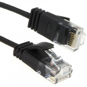 SLIM Cat 6 Full Copper RJ45 Ethernet Network Internet Cable...