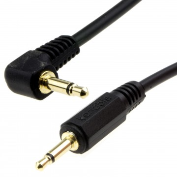 Right Angle MONO 3.5mm Jack Plug to 3.5mm Jack Plug Cable Lead...