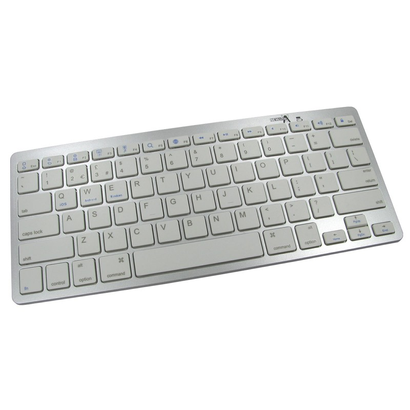 Bluetooth Keyboard Ultra Slim Androids Mobiles or Tablets 10m Range