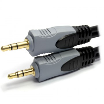 Pure 3.5mm Male to Male Stereo Audio Jack Cable GOLD  10m